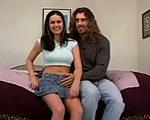 imagen pareja de novios prueba suerte en el porno