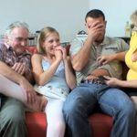imagen la familia de mi novia es muy cachonda