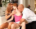 imagen Montan un trío con la hija del vecino