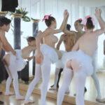 imagen Follando tres bailarinas de ballet juntas
