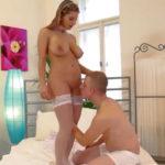 imagen Sexo romántico con una tetona muy guapa