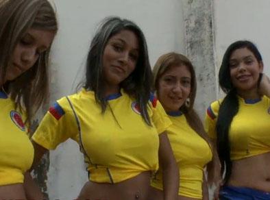 Cuatro colombianas folladas por entrenador de futbol