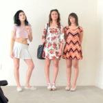 imagen Tres jovencitas en un casting para follada grupal
