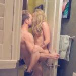 imagen Rubia cachonda echando un polvazo en pareja