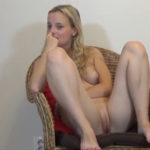 imagen Rubia natural llega al casting abriendo las piernas y mostrando el coño